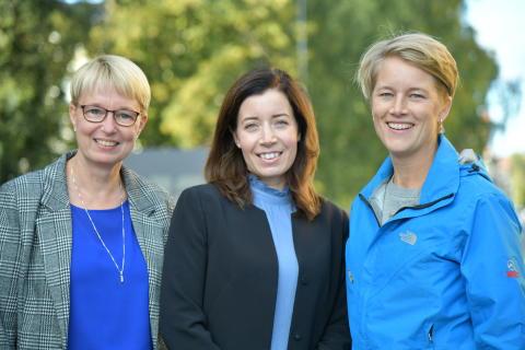 Tre på Umeå Energi nominerade till Årets Kraftkvinna