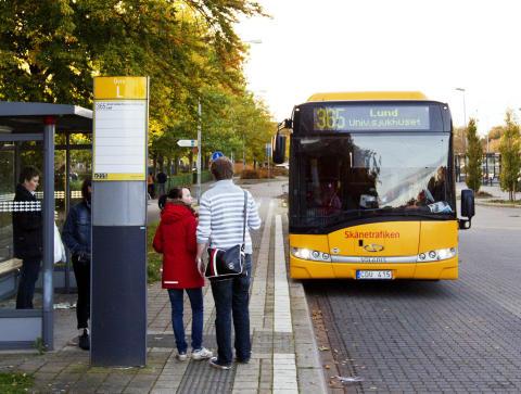 Resan Trelleborg–Lund blir snabbare