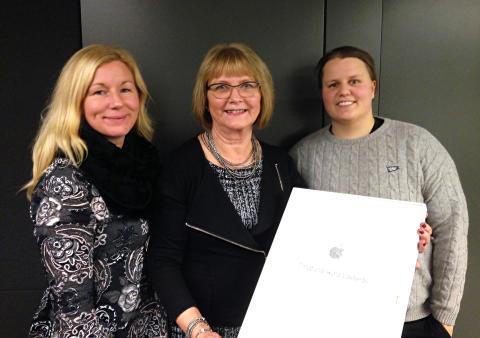 Dingtunaskolan har utnämnts som Apple Distinguished Program