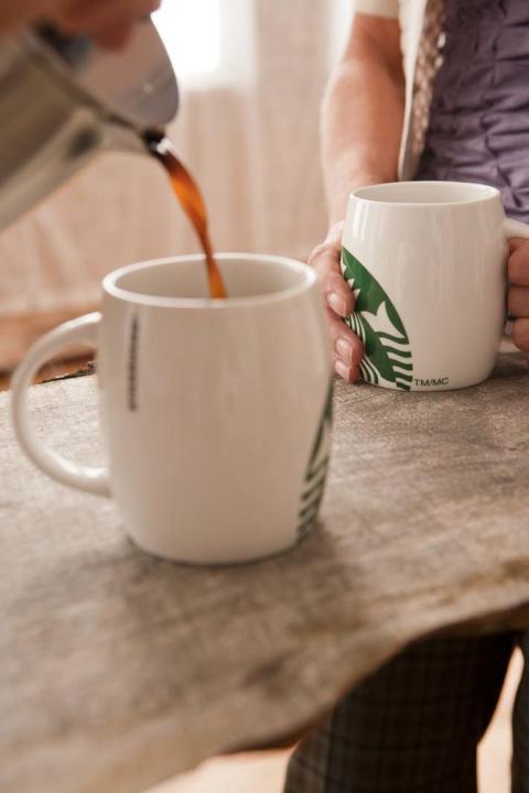 Starbucks färskbryggd kaffe