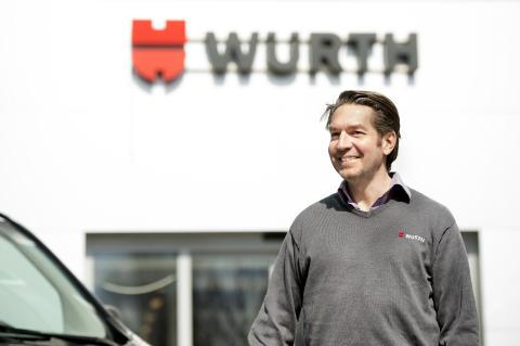 Torsdag den 26 januari öppnar Würths nya butik för yrkesproffs i Södertälje