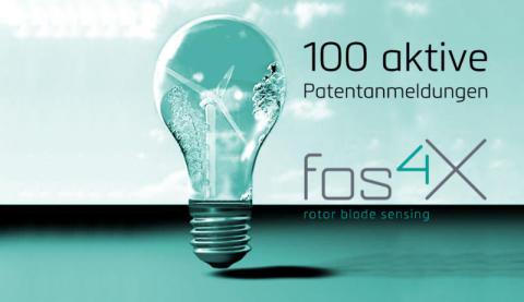 fos4X erreicht 100. aktive Patentanmeldung