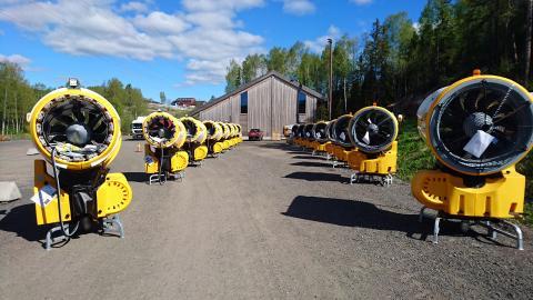 Oslo Vinterpark investerer 26 millioner i snøproduksjon