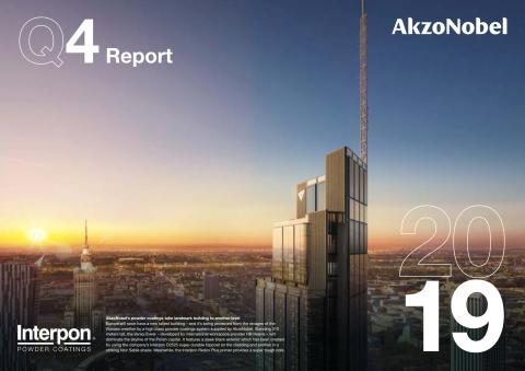 AkzoNobel's Q4 and full-year 2019 results show transformation on track, with further step up in profitability, despite softer end market demand