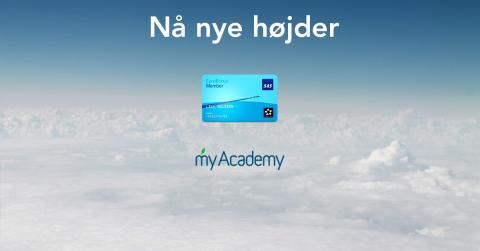 My Academy indleder nyt samarbejde med SAS EuroBonus