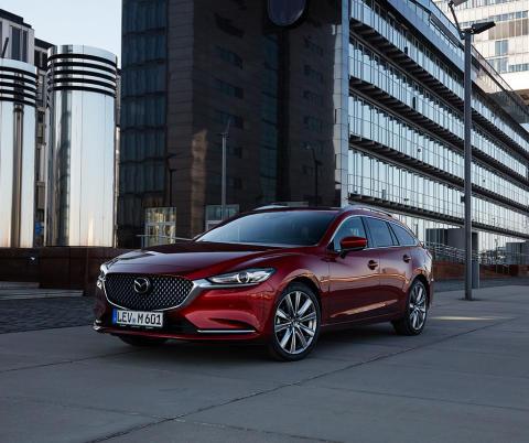 Nye Mazda6 stasjonsvogn avduket i Genevè