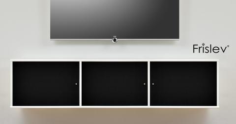 Nyt koncept af dansk designede og dansk producerede AV-reoler fra Frislev®