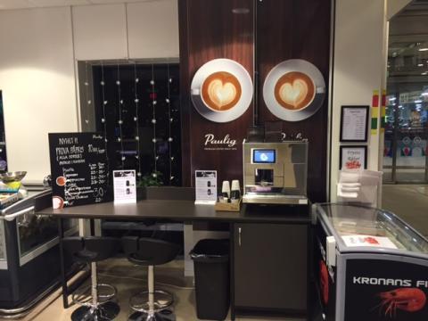 Nu kan du njuta av Pauligs kaffe på Kungsmässan