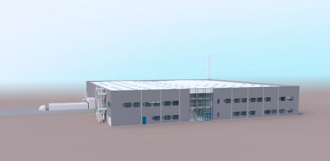 Blue World Technologies_methanol fuel cell factory
