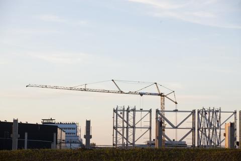 Sänkt prognos för industrins bygginvesteringar