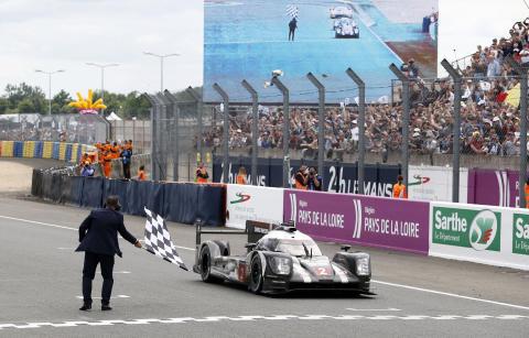Porsche 919 Hybrid, Porsche Team Romain Dumas, Neel Jani, Marc Lieb