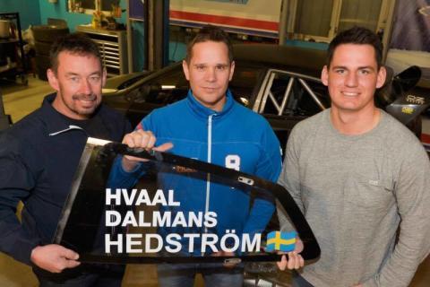 Dalmans och två gånger Hvaal i Hedström Motorsport 2017