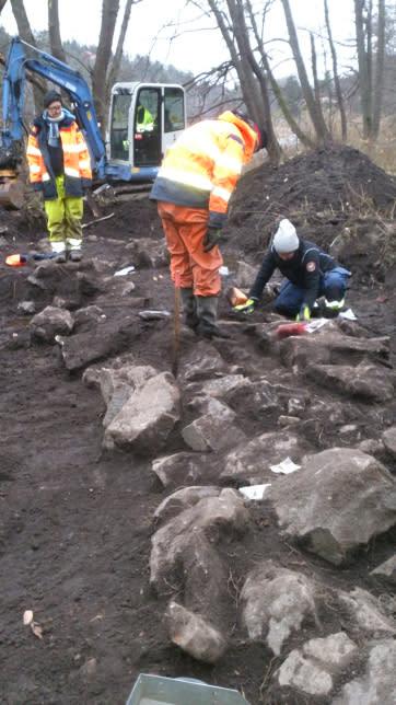 Arkeologiska undersökningar vid Uddby kvarn, Tyresö