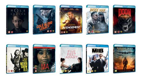 New titles in October from Universal Sony Pictures Home Entertainment