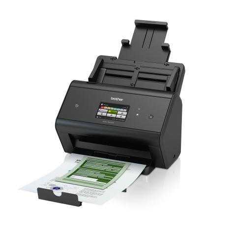 Brother ADS-3600W on monipuolinen ja helppo käyttää suuren kosketusnäyttönsä ansiosta. Skanneri skannaa jopa 50 sivun minuuttinopeudella ja siinä on erinomaiset verkkoyhteydet: kiinteä ja langaton verkkoyhteys sekä erittäin nopea USB 3.0 -liitäntä.