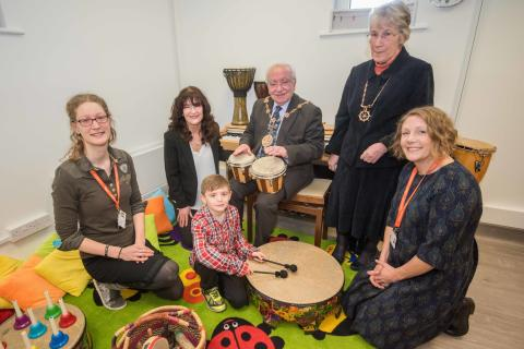 ellenor opens a new creative therapies room