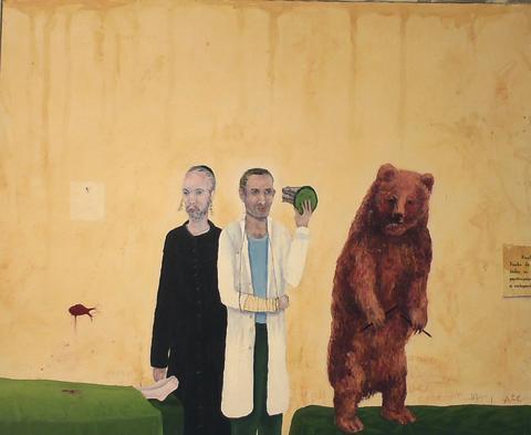 Anna-Carin Englund visar målningar på Teatergalleriet i Uppsala 11/9 - 16/10 2010.