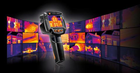 Nya värmekameror från Testo – robusta, smarta och uppkopplade