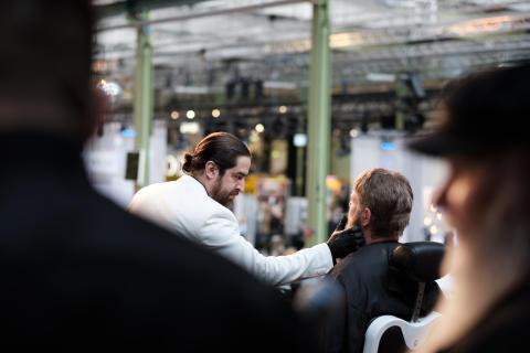 Amin Iranmanesh från Sverige vann Nordens första barberartävling!