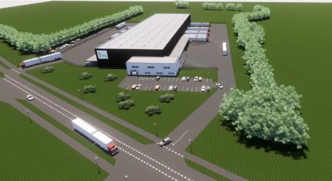 Bring bygger ny terminal i Taulov