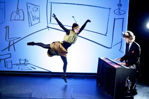 Birollen och musikanten i regi av Cilla Klein spelas av NorrlandsOperan i Skellefteå 19 mars och i Umeå 20 mars 2016
