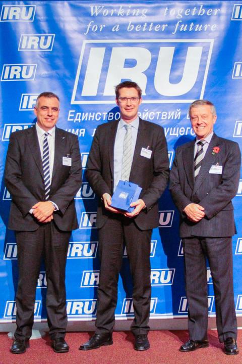 TimoCom støtter IRUs guidelines