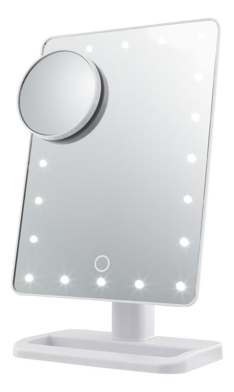Sminkspegel med belysning, frilagd