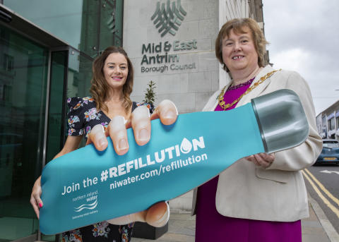 Mid and East Antrim Council Join the Refillution!