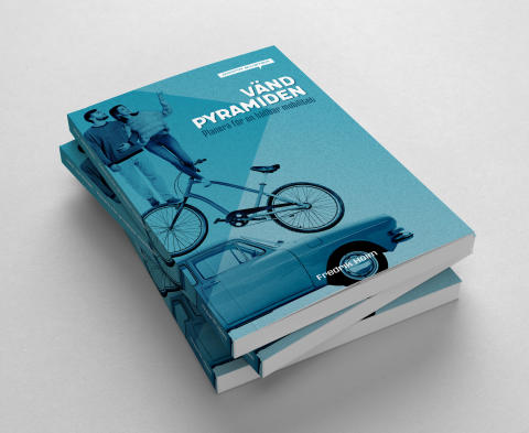 Vänd pyramiden! Gröna Bilister lanserar ny bok om trafikplanering med människan i centrum
