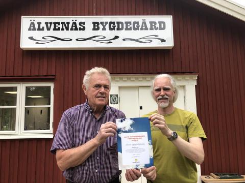 Pressmeddelande: Stimulansstöd till Älvenäs bygdegårdsförening