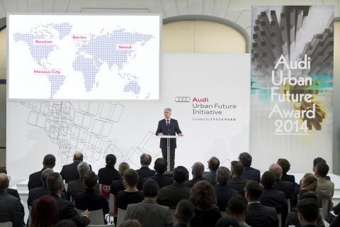 "Audi præsenterer ""Urban Agenda"": Mindre kø og mere livskvalitet i byen"