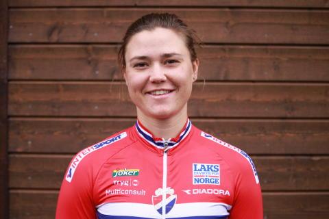 Line Marie Gulliksen  på sykkellandslaget 2017