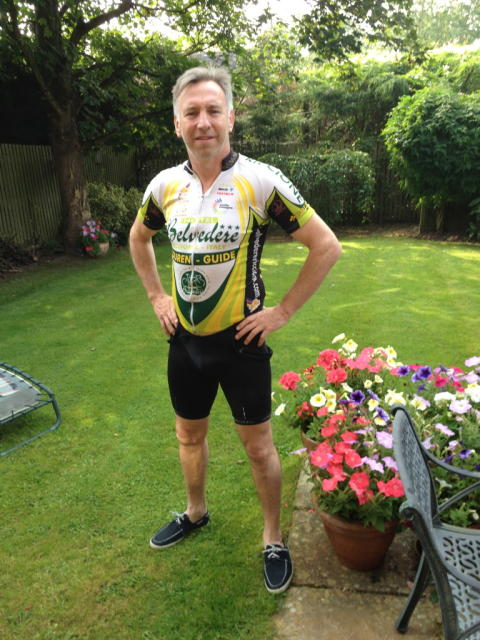 ​Worcester stroke survivor tackles 60 mile bike ride for the Stroke Association