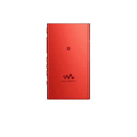 WALKMAN NW-A35 von Sony_zinnoberrot_4