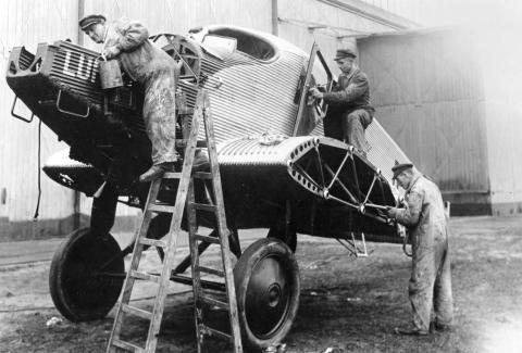 Vortrag anlässlich des 80. Todestages des deutschen Flugzeugkonstrukteurs Hugo Junkers