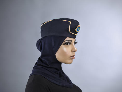 Norm Form: hijab designed for the Swedish police force