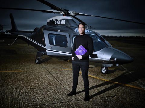 The new Milk Tray Man – Patrick McBride