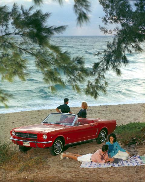 Mustang firar 50 år på Elmia