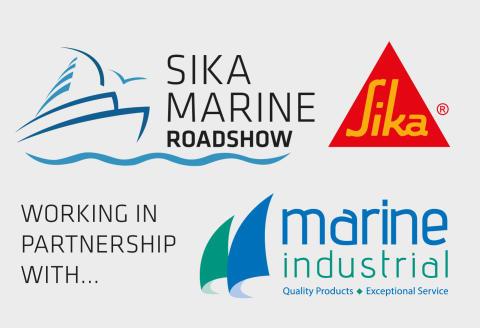High res image - Sika UK - Sika Marine Roadshow logo
