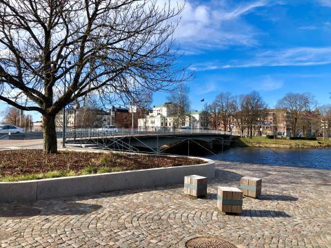 Västra bron renoveras – enkelriktat för bil och buss