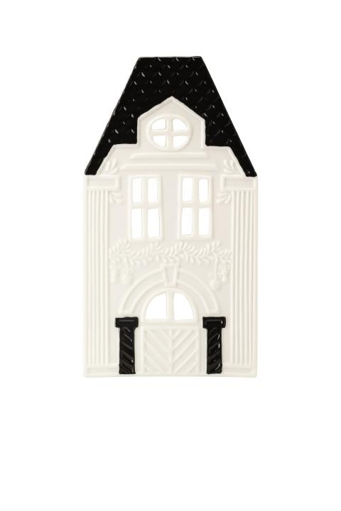 HR_Little_Christmastown_Front 8 white-black_Tea light house