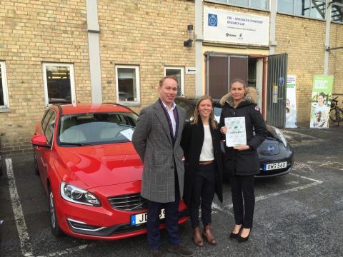 Miljöbästa Bil 2016 - Bästa valet för företaget - Andra pris: Volvo V60 Bi-fuel
