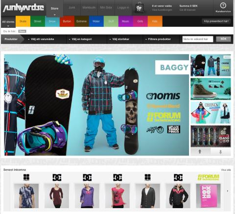 Junkyard.se vinnare av årets e-handel på modegalan 2010