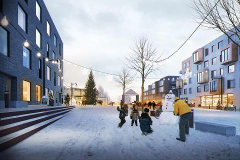 Fredriksskans, Kalmar, Riksbyggen