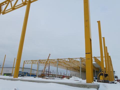 Väderstads logistikhus 2013-02-11