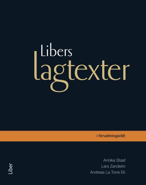 Libers lagtexter i förvaltningsrätt