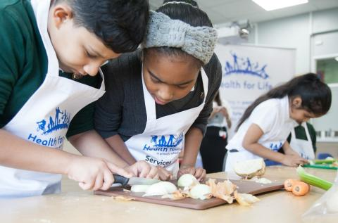 Hundreds of Birmingham primary school pupils take part in city-wide cookathon