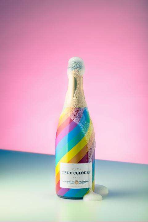 True Colours Cava med mousse