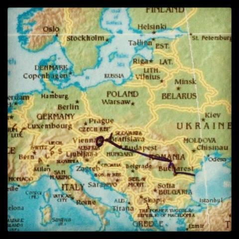 Att tågluffa med barn, i hjärtat av Europa. I Draculas fotspår…