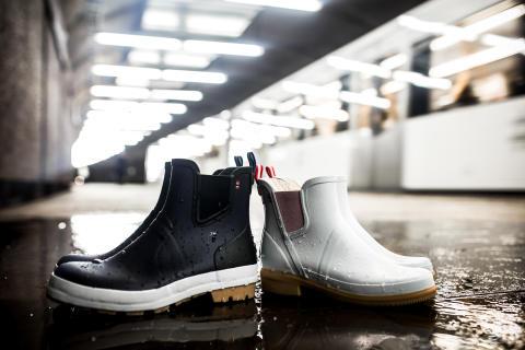 Festivalsesongen kan komme!  Viking Footwear og Urban samarbeider om en ny gummistøvel